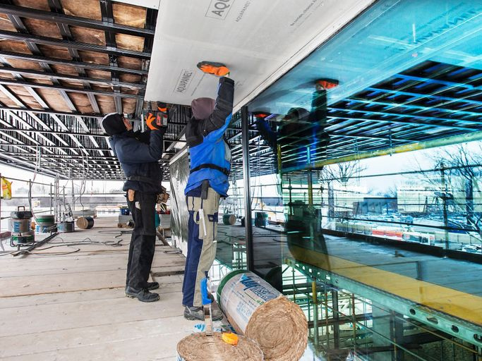 Knauf Aquapanel System Aquapanel Cement Board Skylite