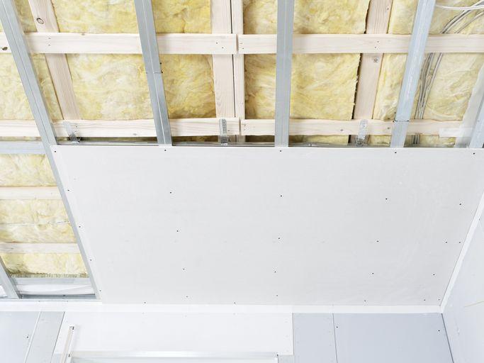 Trockener Innenausbau Raumhöhen Absenken
