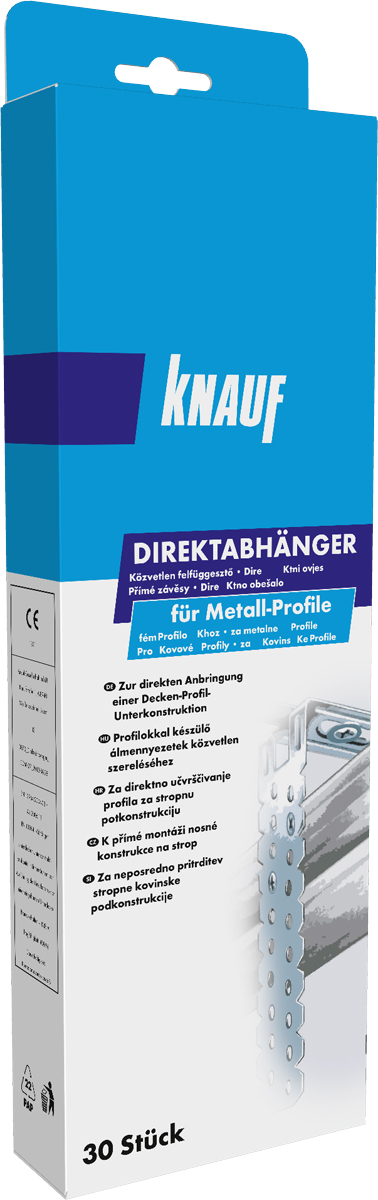 knauf direktabh nger f r cd profil 60 27 sb verpackung. Black Bedroom Furniture Sets. Home Design Ideas