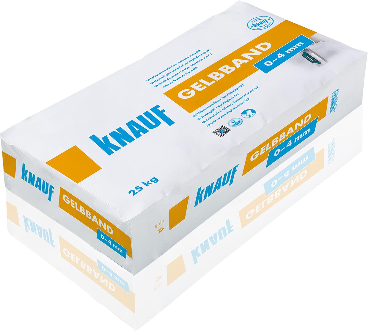 knauf - gelbband flächenspachtel / spachtelgips