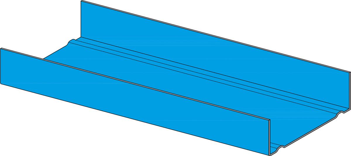 knauf feuchtraumprofil c5m uw profil 100 x 40 x 0 6 mm. Black Bedroom Furniture Sets. Home Design Ideas