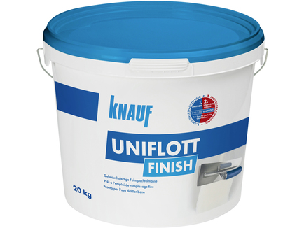 knauf uniflott finish. Black Bedroom Furniture Sets. Home Design Ideas